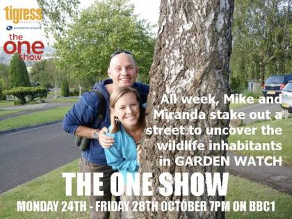 ALL NEXT WEEK - The One Show - Garden Watch - 7pm